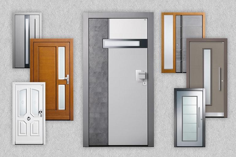 Auswahl an Premium Topic Haustüren